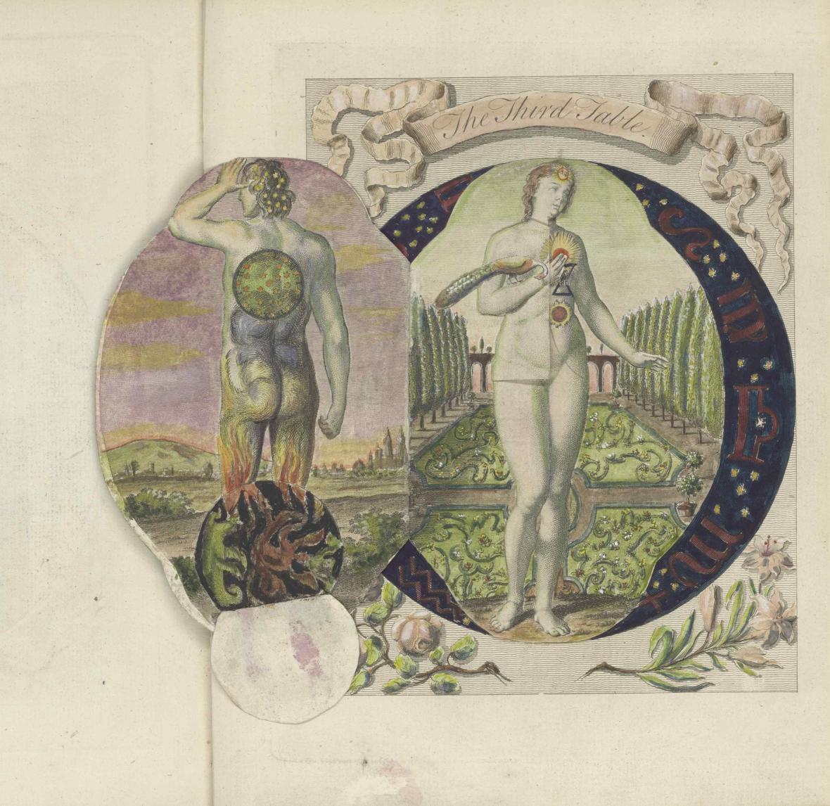 Dionysius Andreas Freher / Transformace lidstva (mědirytina z Děl Jacoba Böhmeho, 1764-1981)