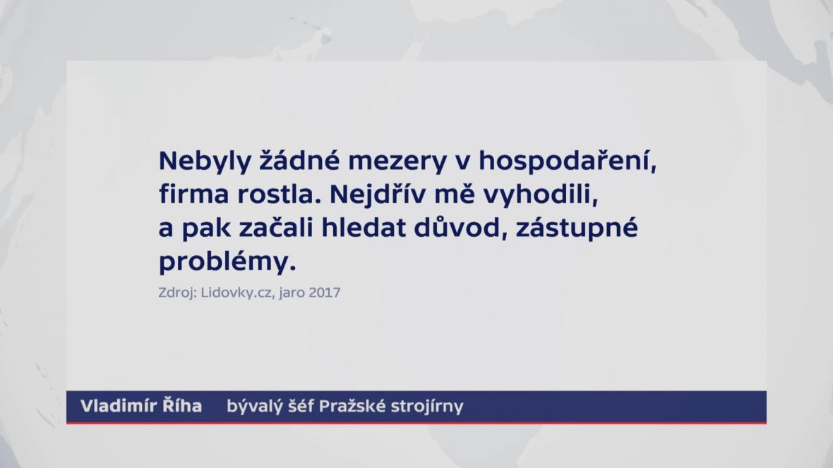 Vyjádření pro server Lidovky.cz