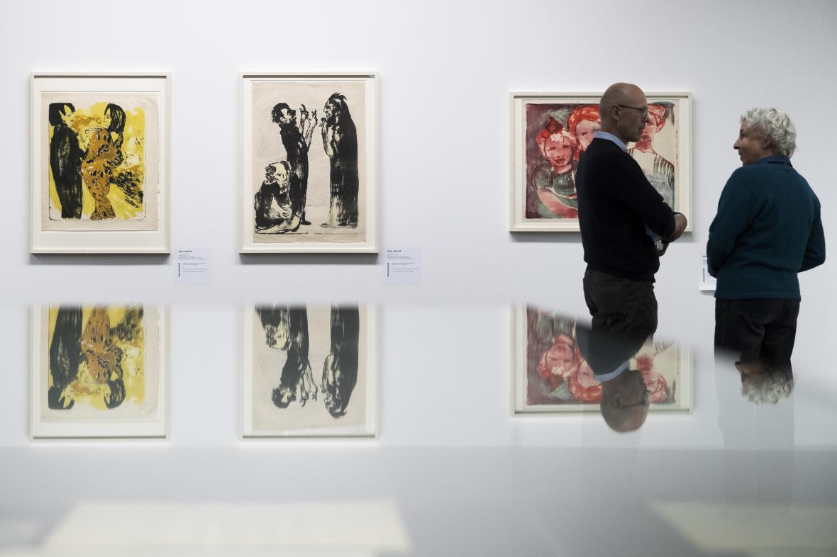 Výstava Gurlittovy sbírky v Bernu