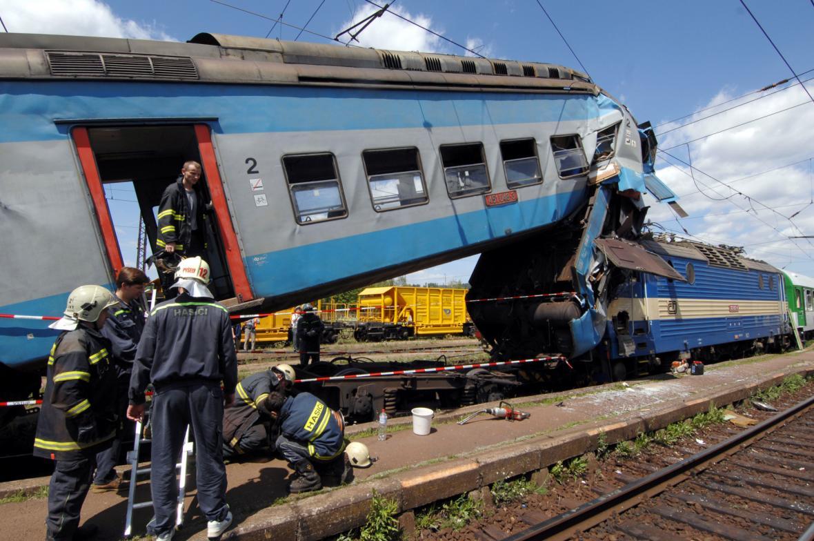 Nehoda v Čerčanech