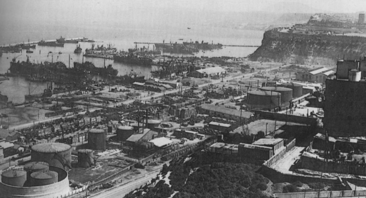 Alžírský přístav Oran