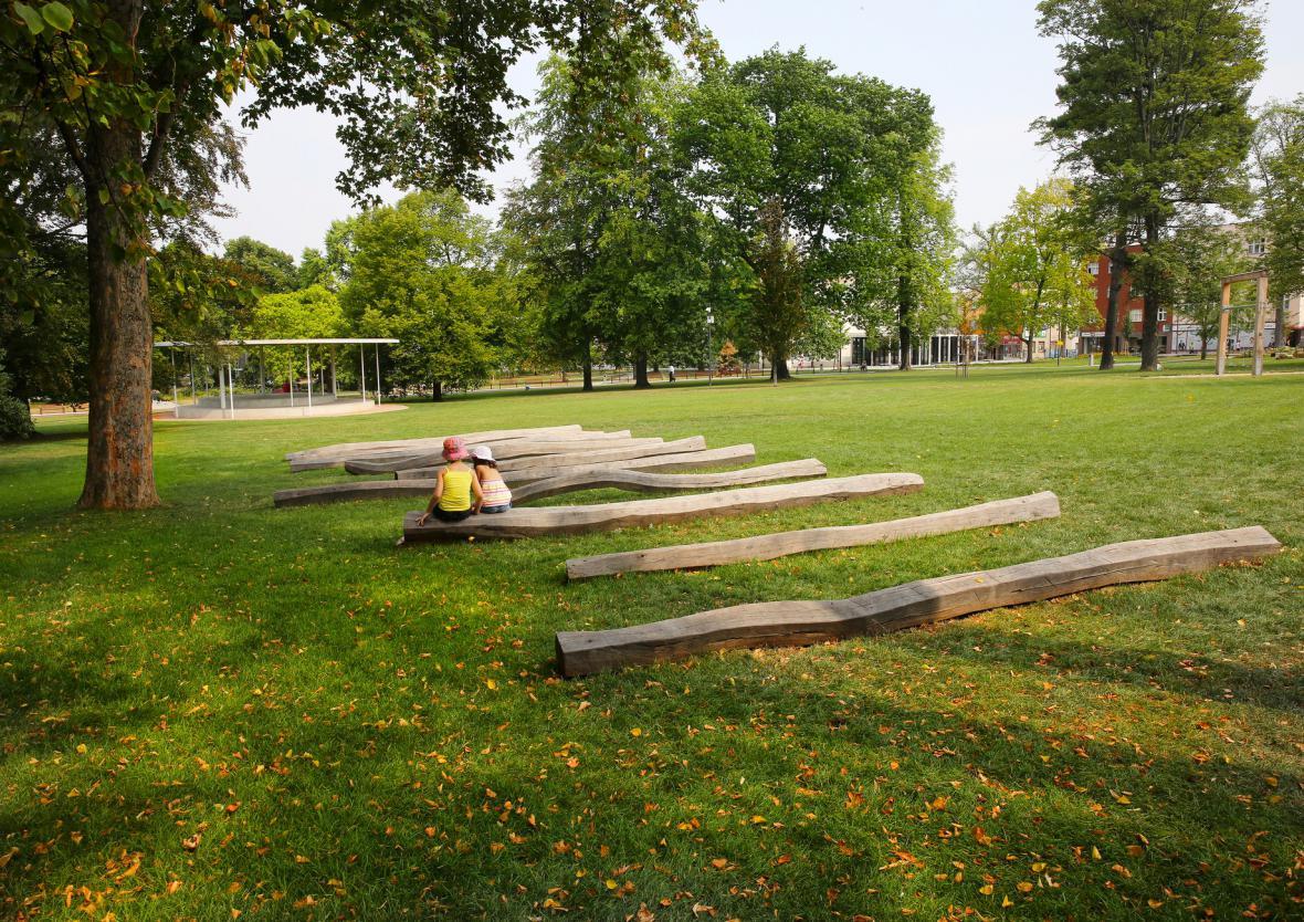 Revitalizace parku Komenského, Zlín (Zdeněk Sendler, Václav Babka, Pavel Mudřík, Lucie Radilová)