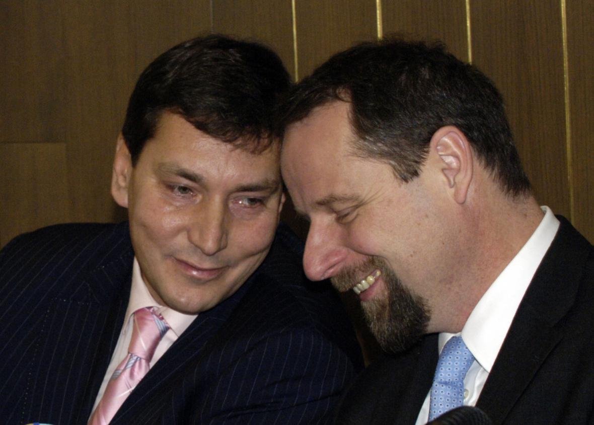 Tomáš Hüner a Martin Říman