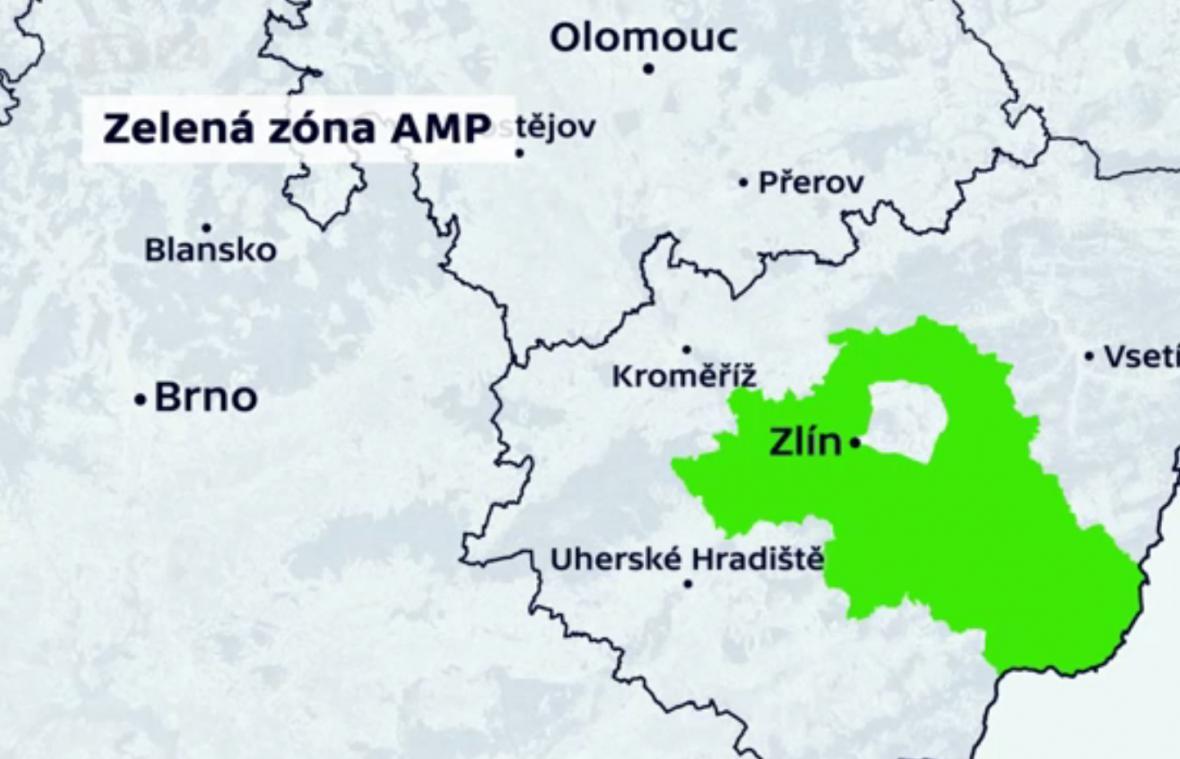 Zelená zóna afrického moru prasat