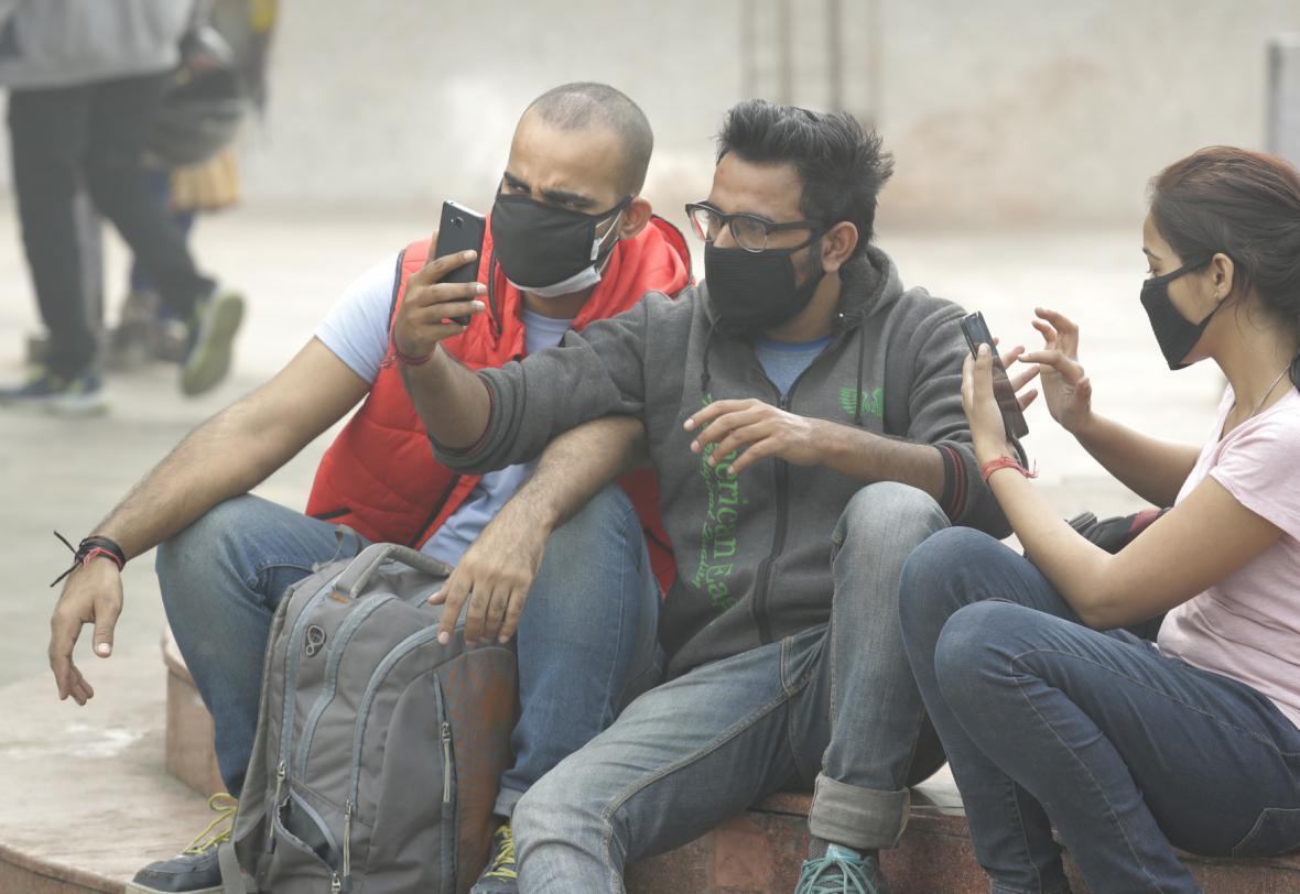 Smog v Dillí