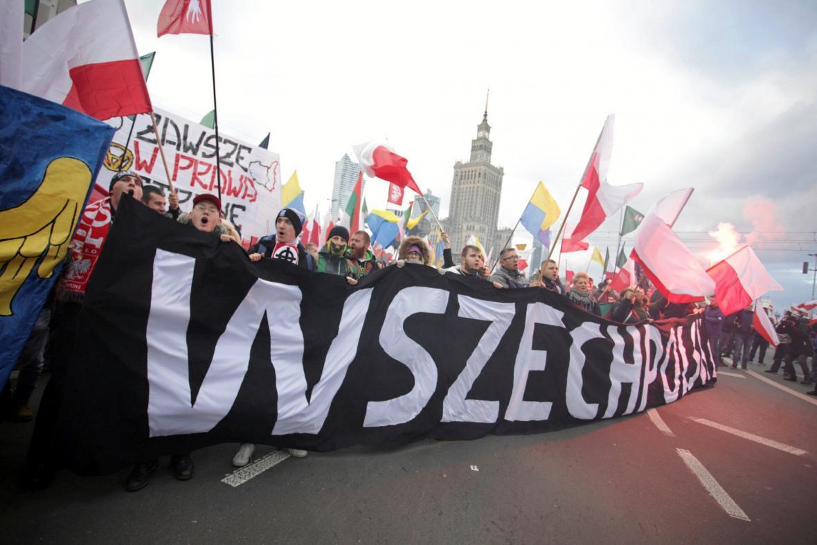 Nacionalistický pochod ve Varšavě