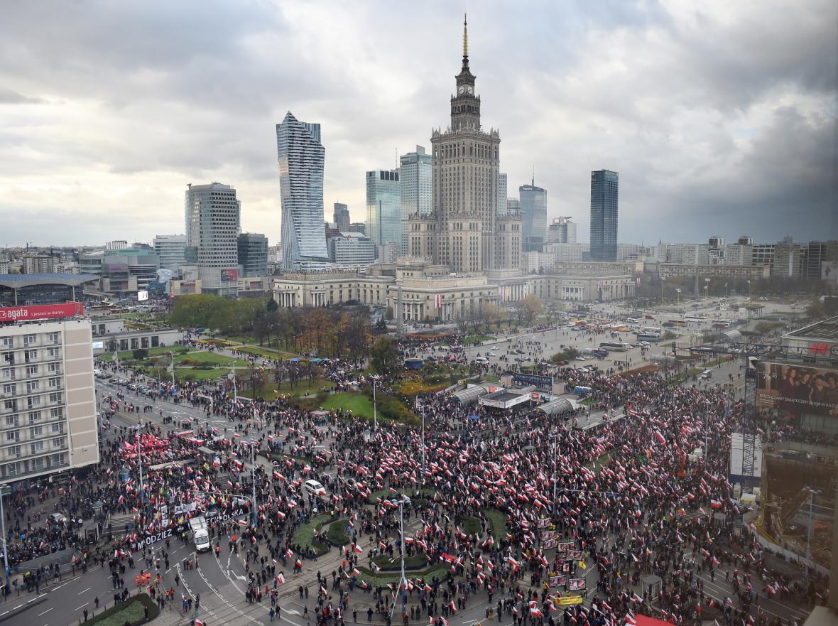 Oslavy Dne nezávislosti v Polsku