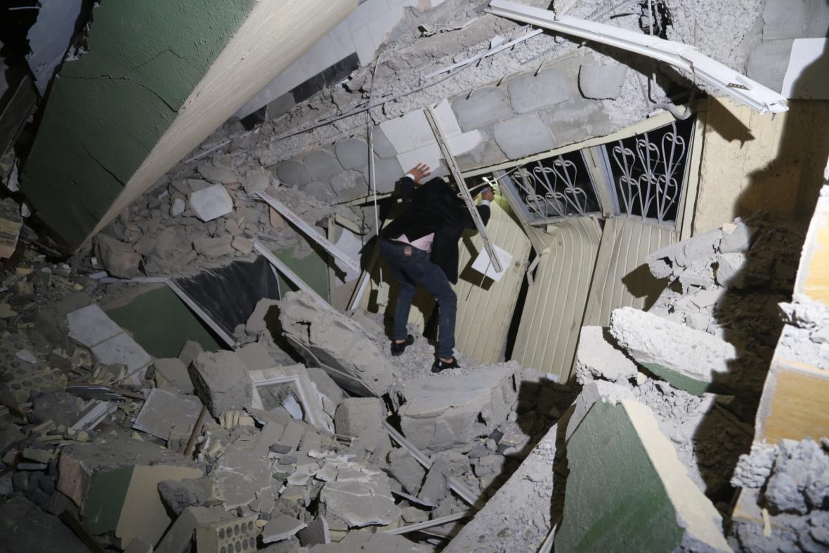 Následky zemětřesení v Íránu a Iráku
