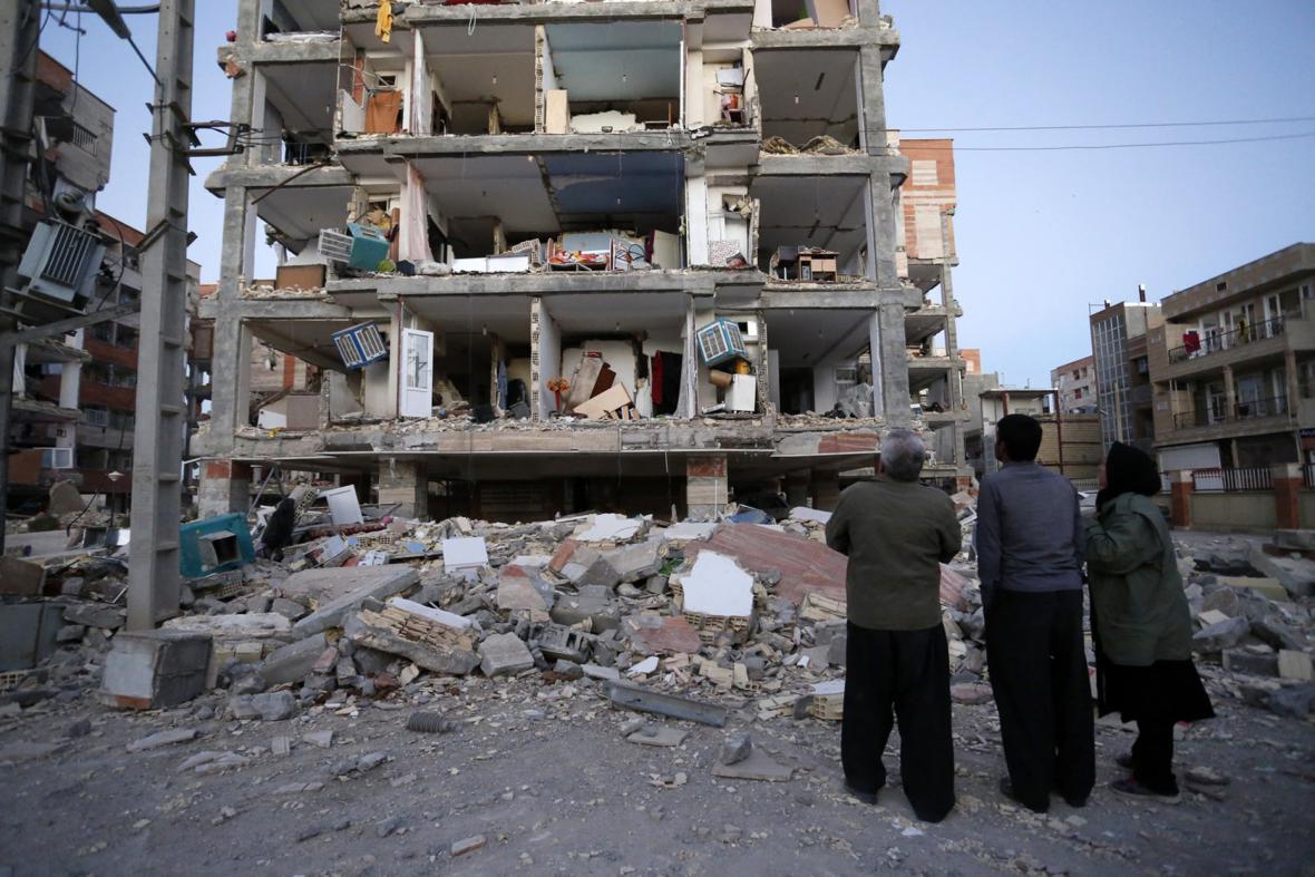 Následky zemětřesení v Iránu a Iráku