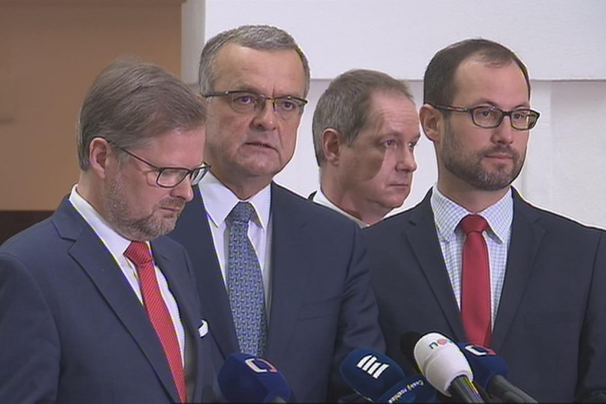 Zástupci Demokratického bloku