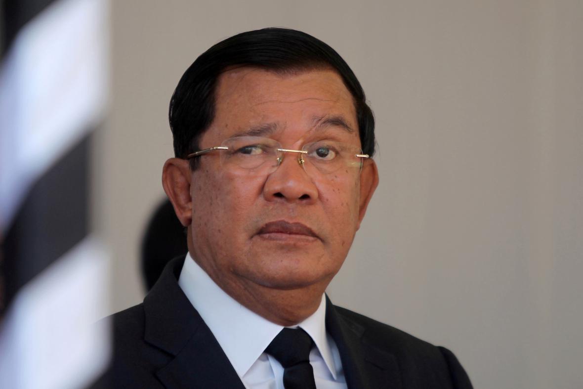 Hun Sen, premiér Kambodže
