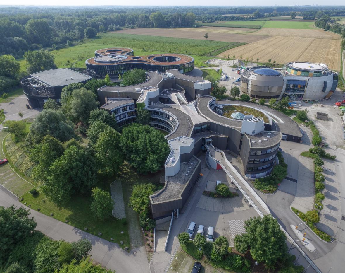 Centrála ESO v Německu