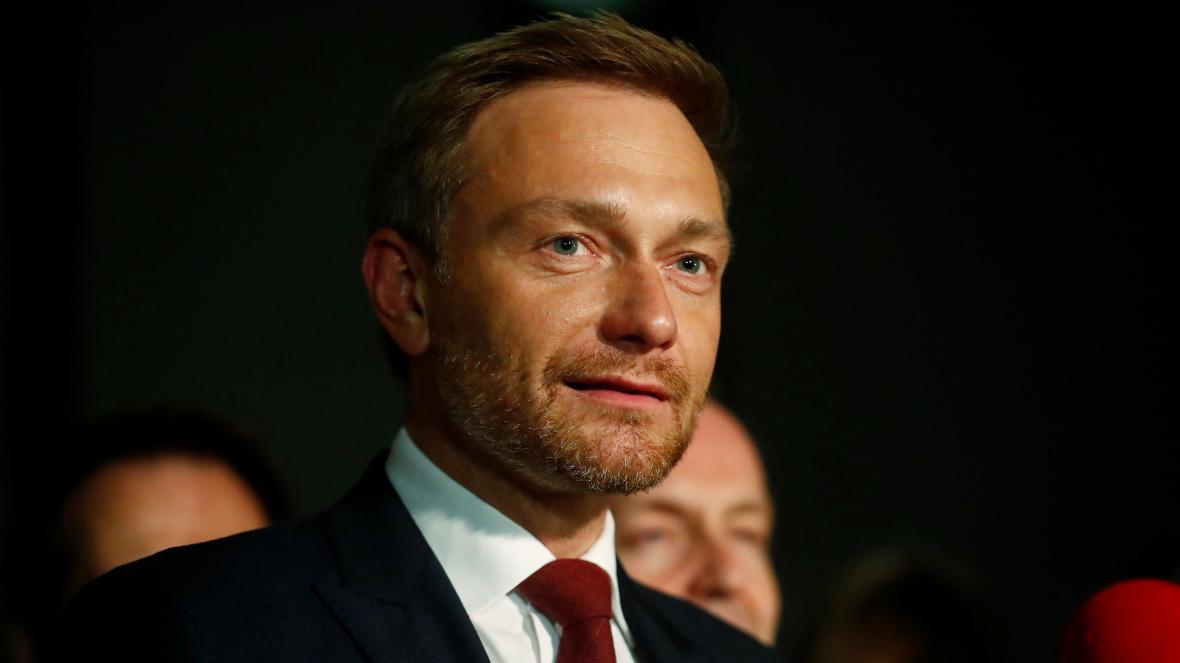 Šéf FDP Christian Lindner