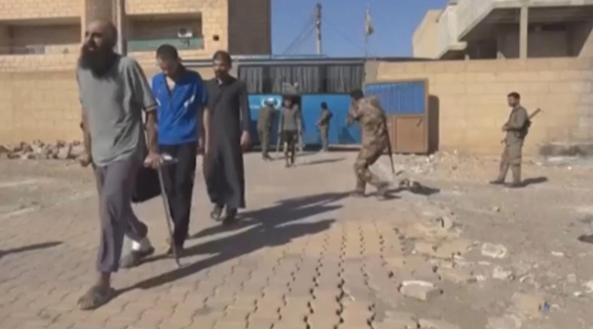 Dopadení džihádisté v Sýrii