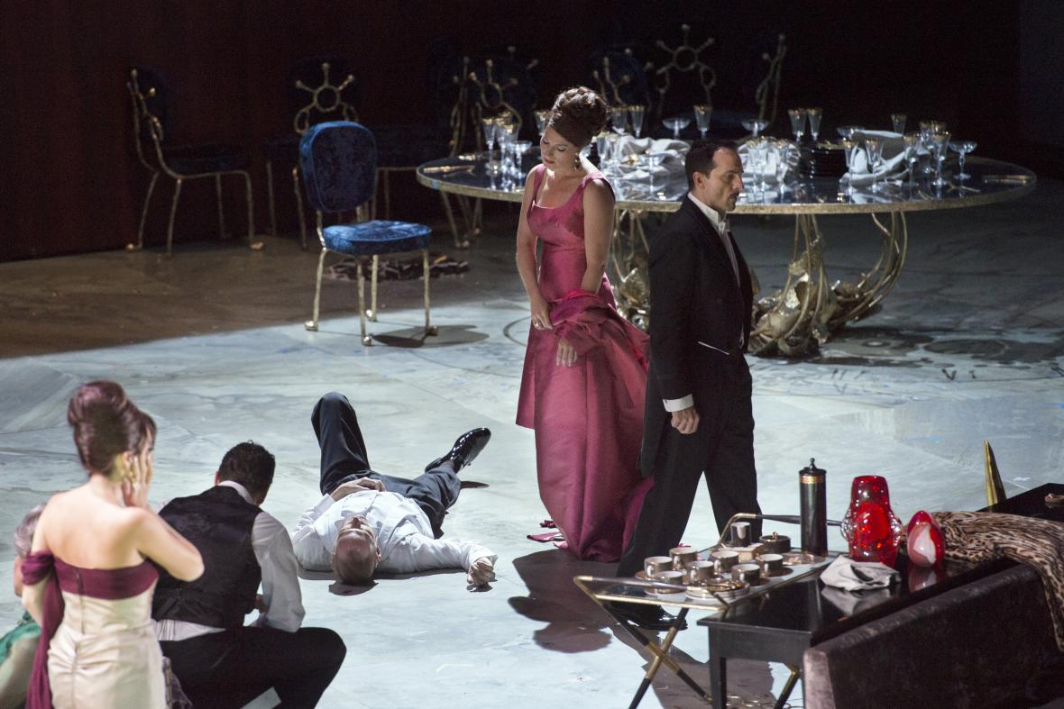 Anděl zkázy v Metropolitní opeře v New Yorku