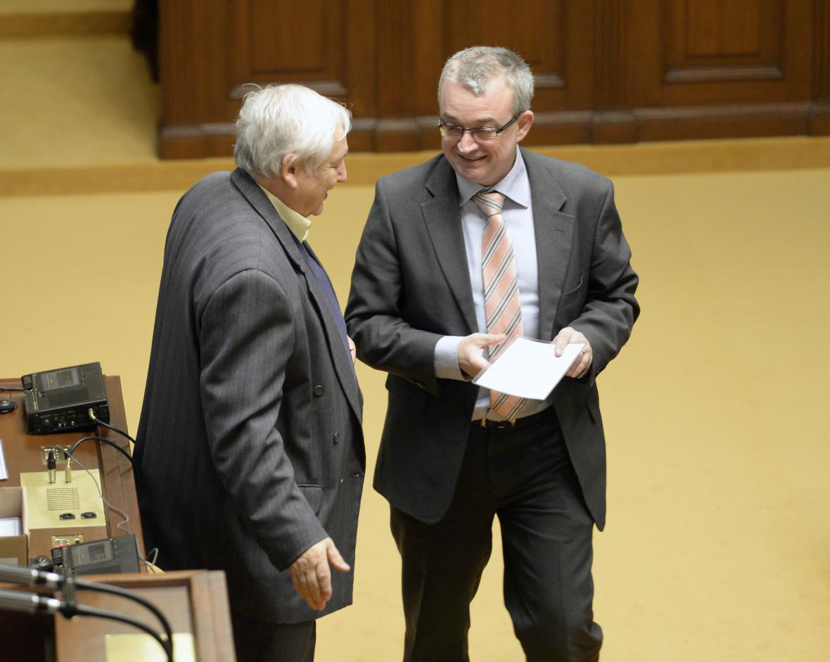 Marek Benda a Václav Henych