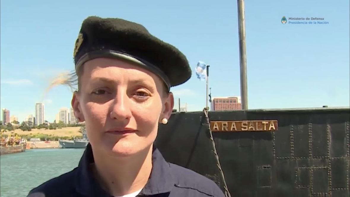 Členka posádky zmizelé ponorky Maria Krawczyková