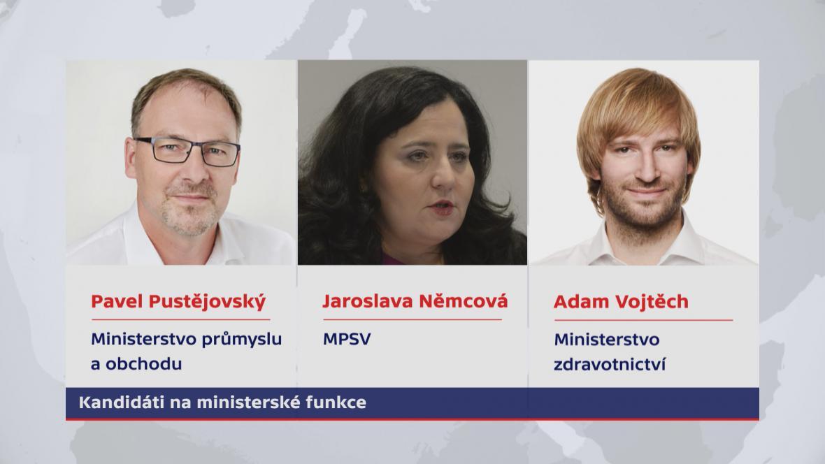 Noví ministři