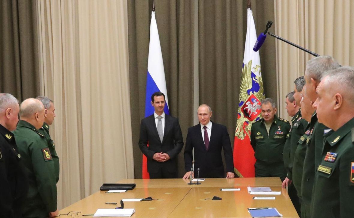 Asad se setkal s vedením ruské armády