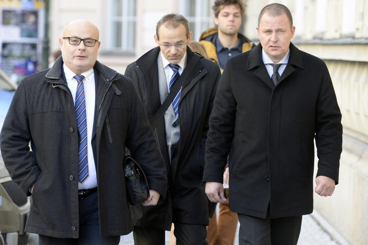 Ondrej Páleník, Milan Kovanda a Jan Pohůnek
