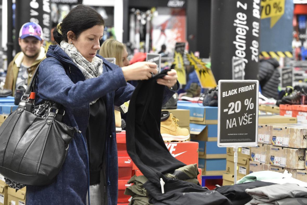 Prodejna Hervis v brněnském nákupním centru Vaňkovka.