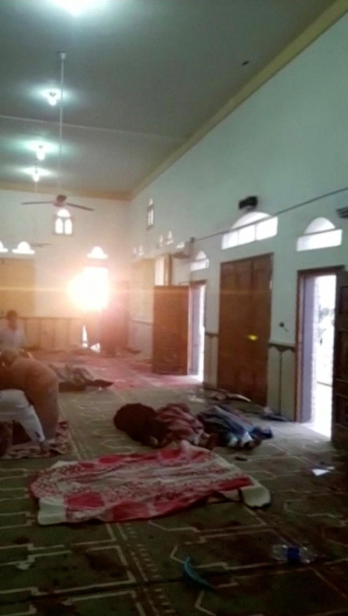 Útok na mešitu na severu Sinaje
