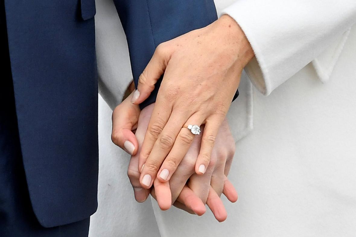 Zásnubní prsten Meghan Markle