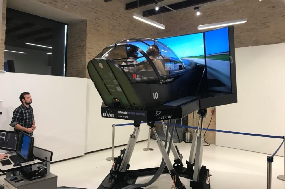 Letecký simulátor na FIT VUT