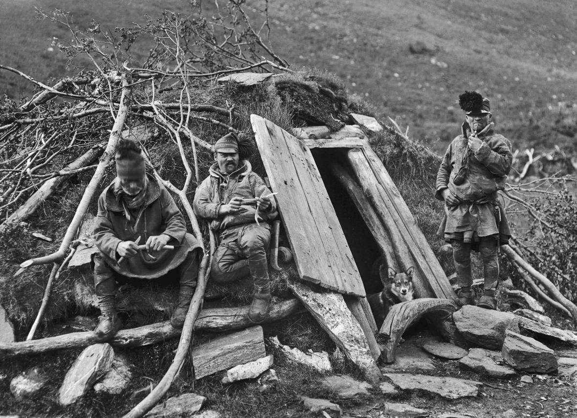 Sámové (snímek z doby kolem roku 1913)