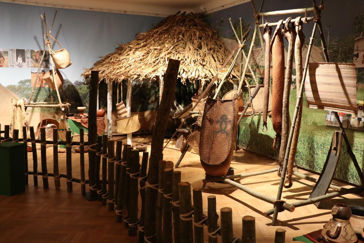 Výstava Indiáni