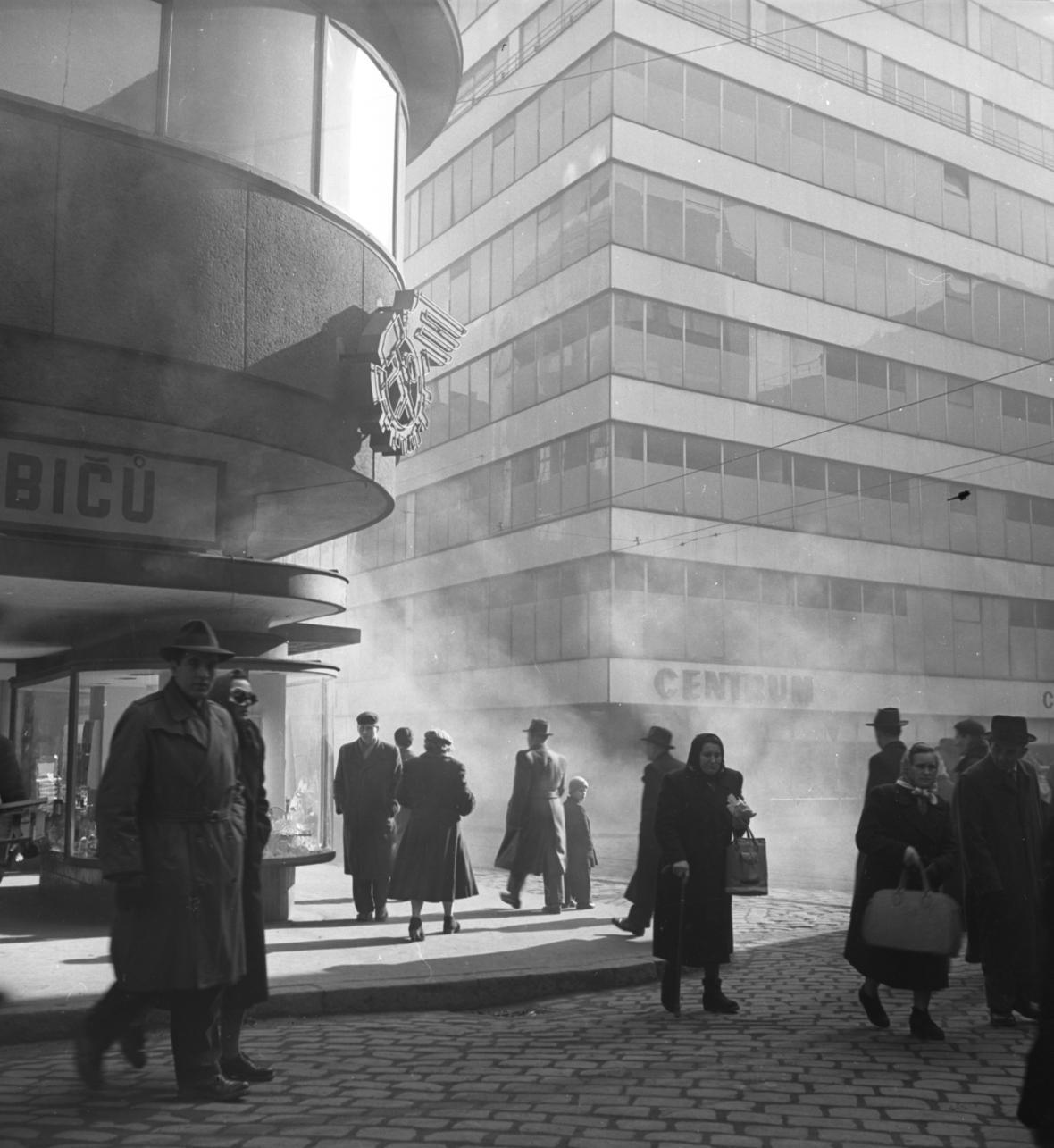 Brno, Centrum, 1957
