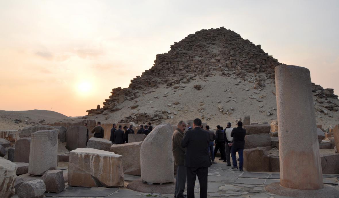 Archeologické naleziště v Abúsíru