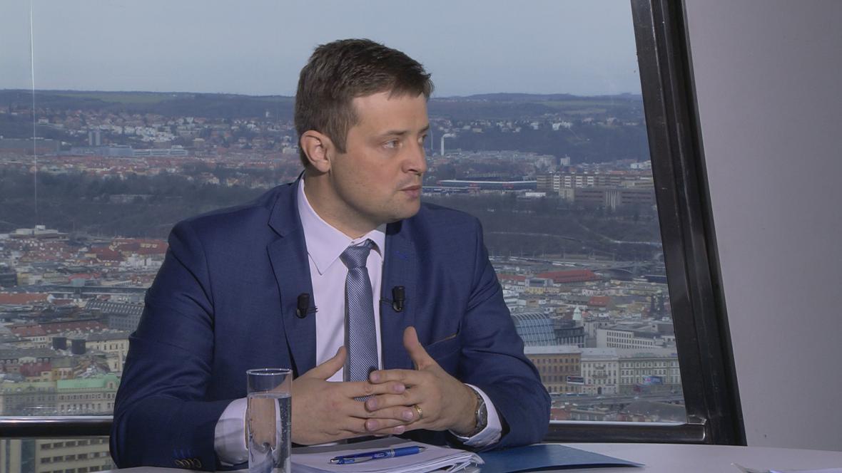 Generální ředitel Generálního finančního ředitelství Martin Janeček