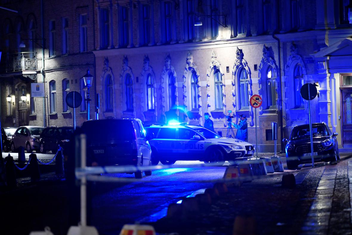 Útok na synagogu v Malmö