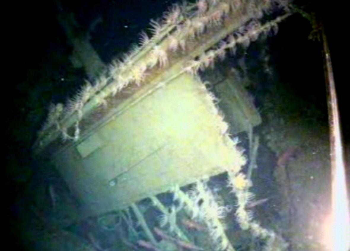 Nalezená australská ponorka