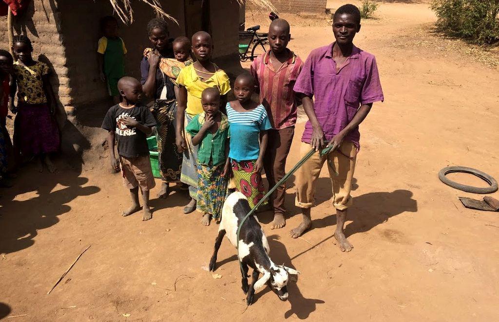 Děti v Malawi