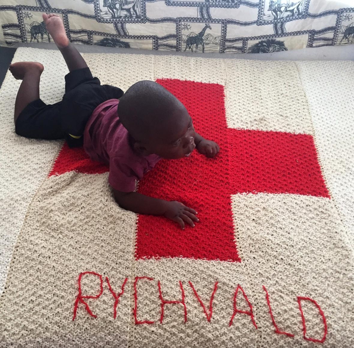 Pacient nemocnice v Mallawi na dece z Rychvaldu