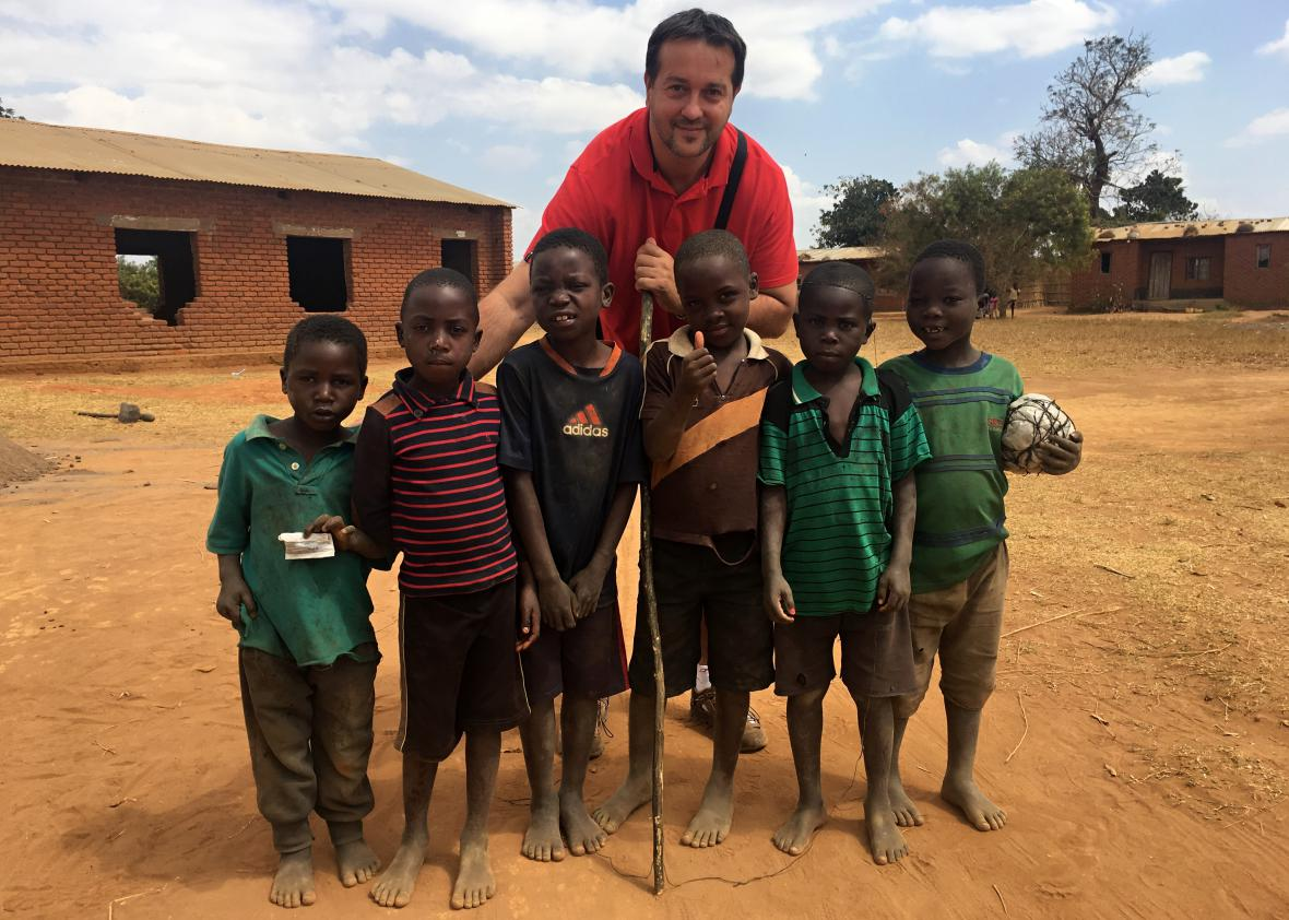 Rastislav Maďar v Malawi