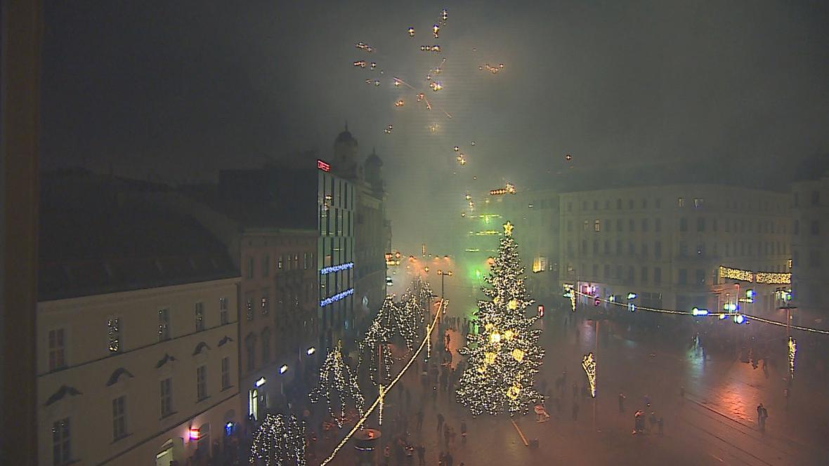 I v Brně proběhly silvestrovské oslavy v klidu