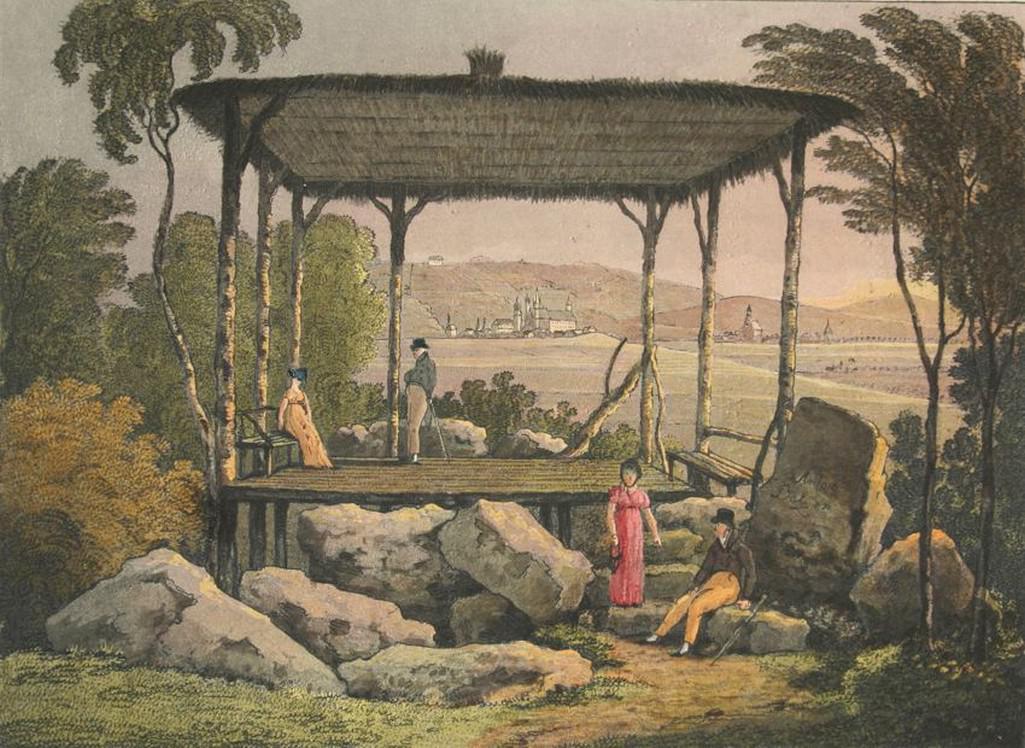 Z dálky / z blízka - krajinomalba 19. století, severní Čechy