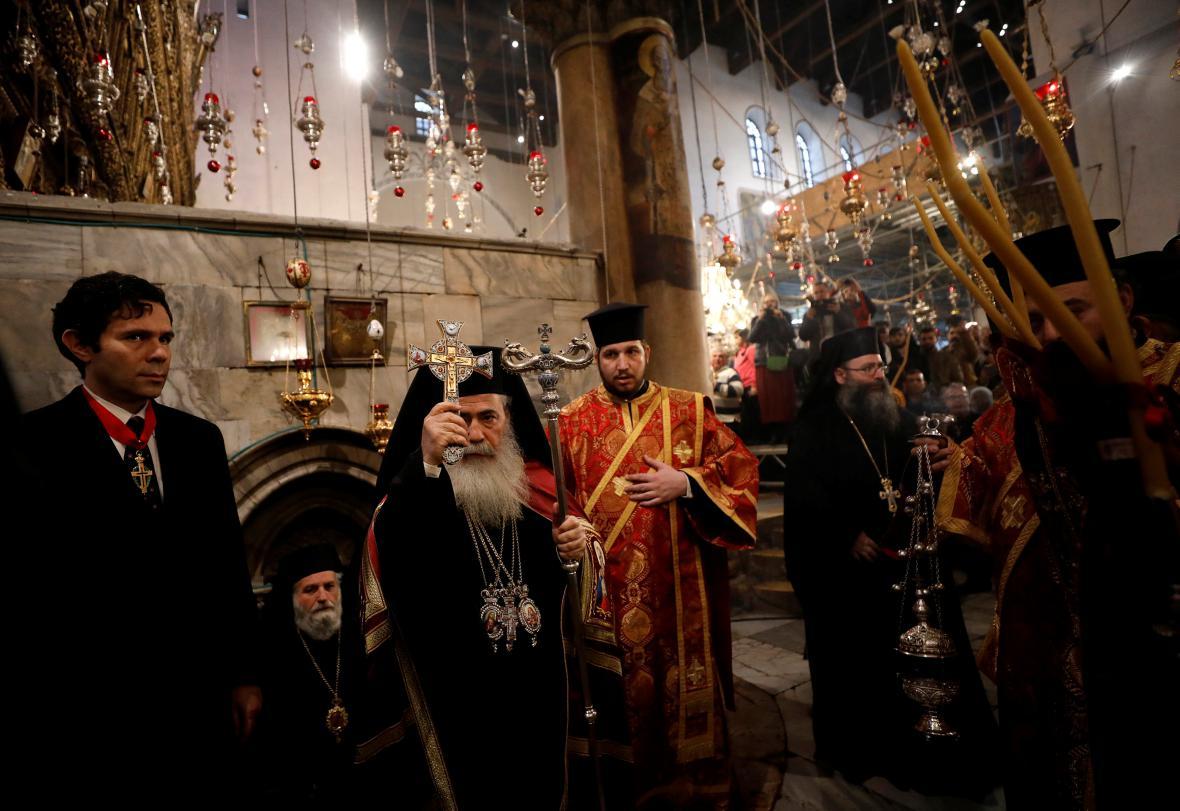 Patriarcha řecké pravoslavnoé církve Teofilos III.