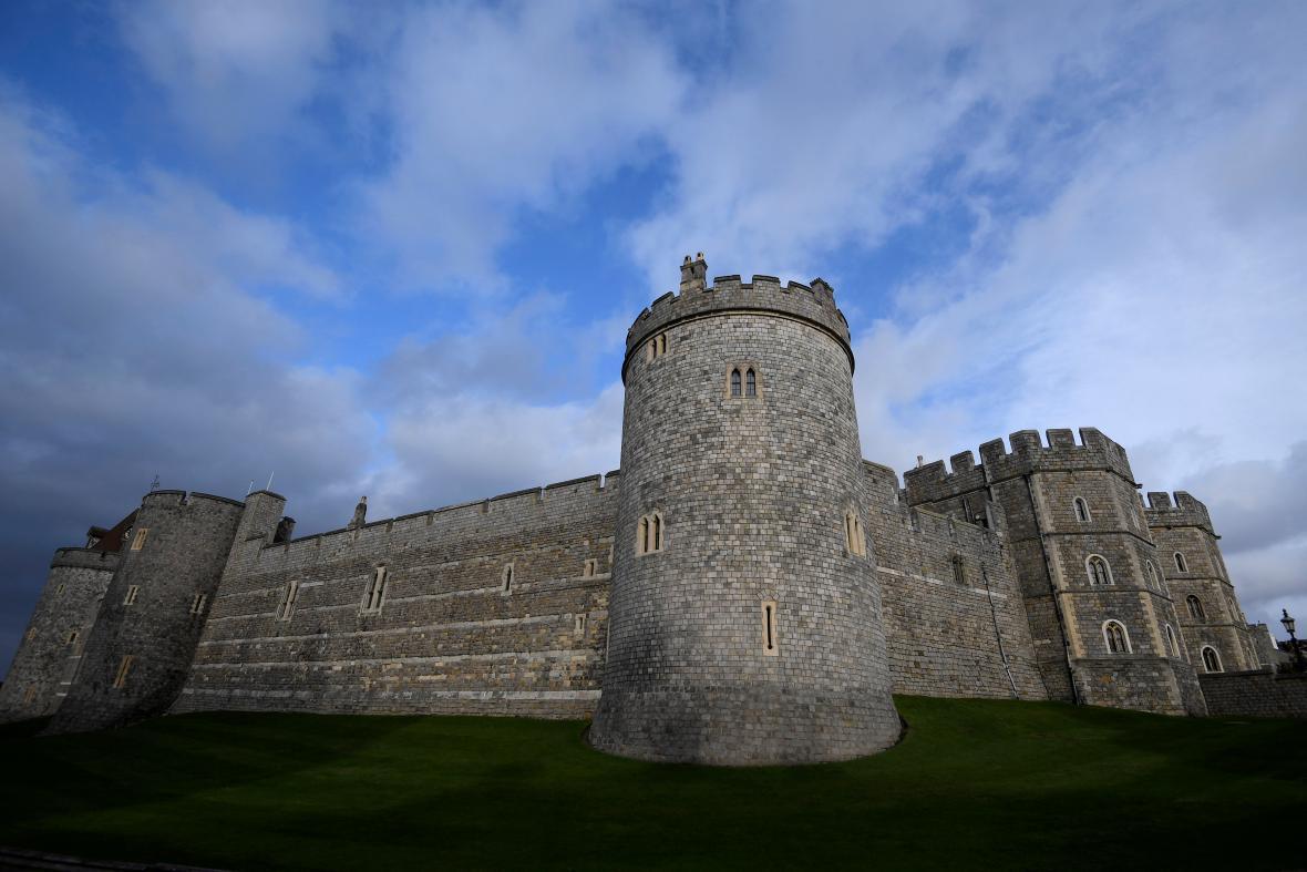 Windsorský zámek