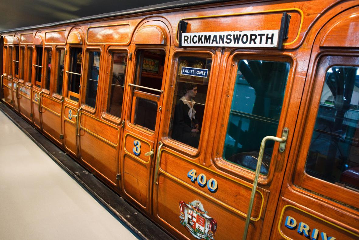 Vůz londýnského metra