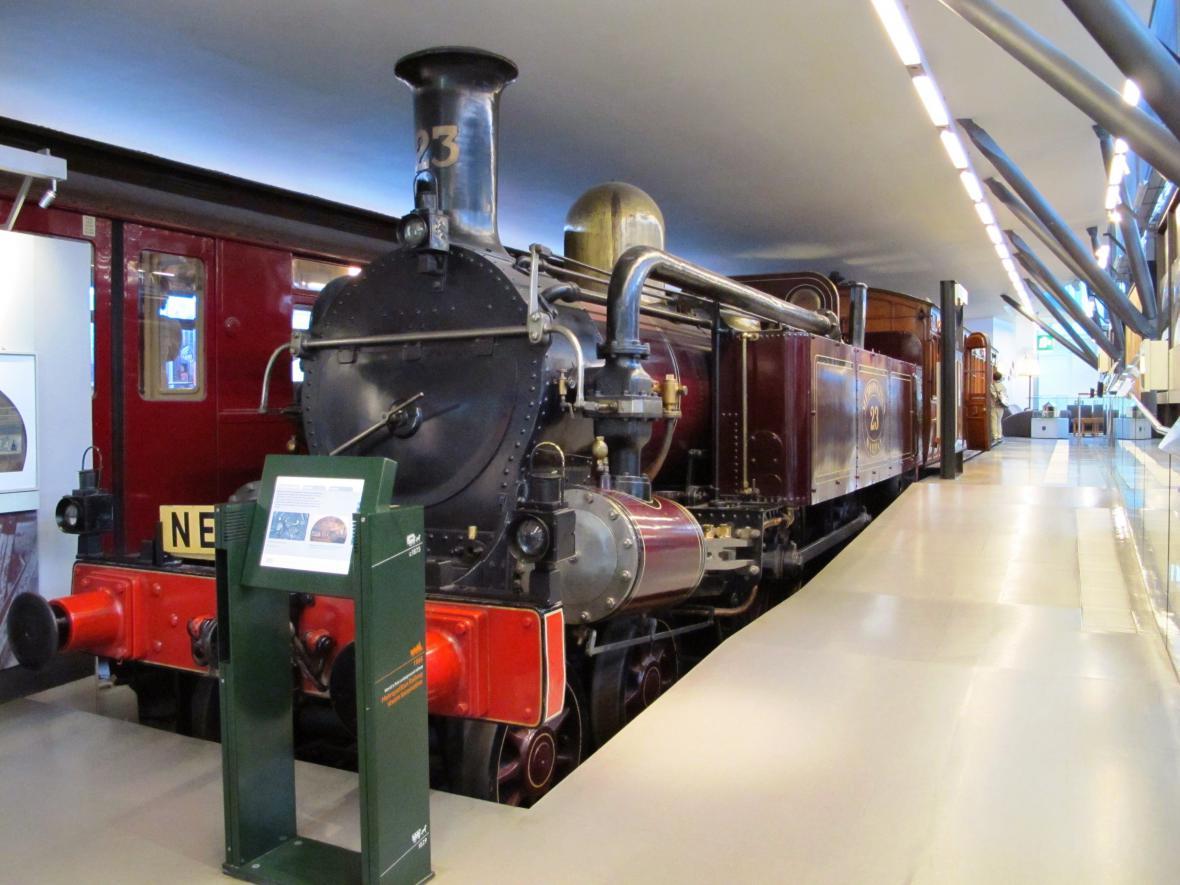 Parní lokomotiva londýnské podzemní dráhy