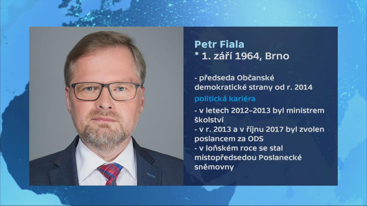 Vizitka Petra Fialy