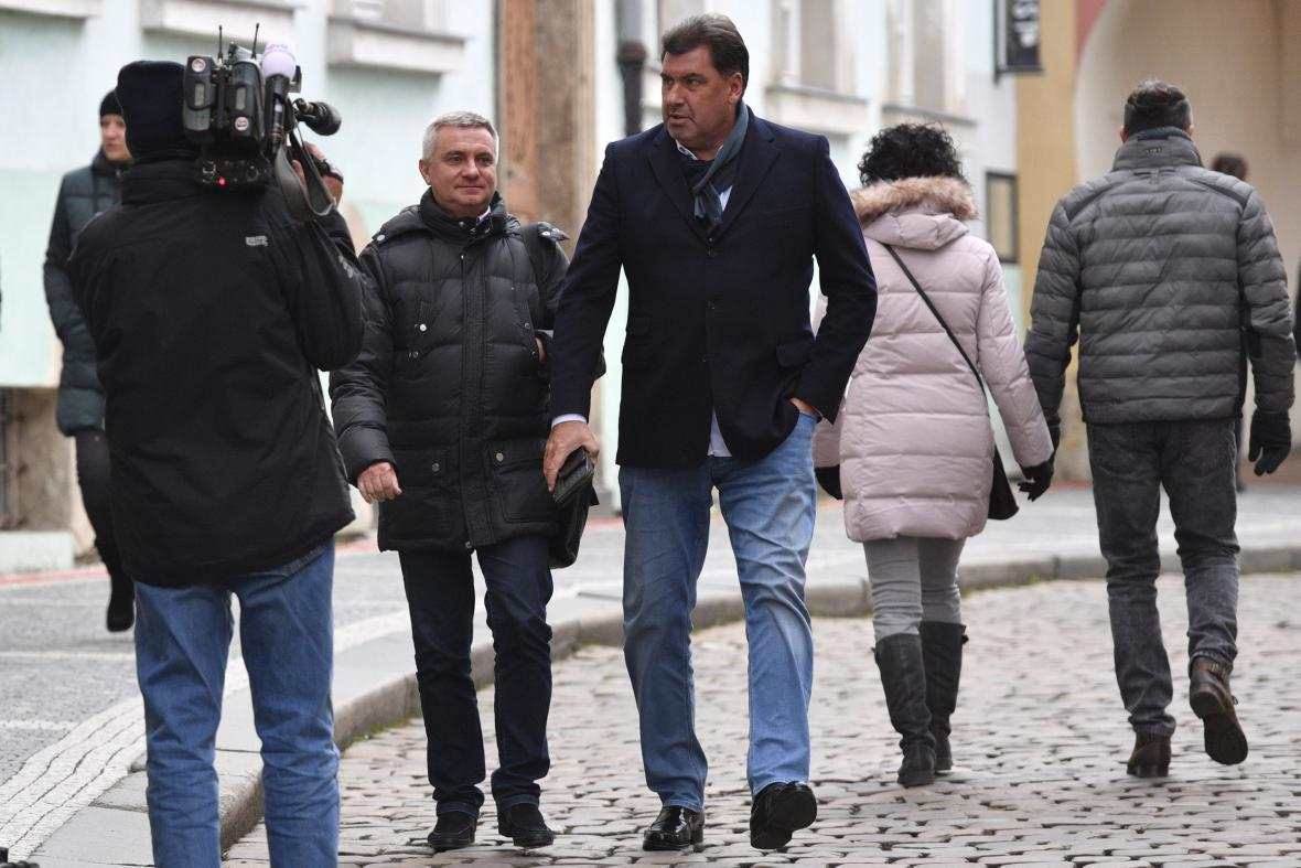 Vratislav Mynář a Martin Nejedlý