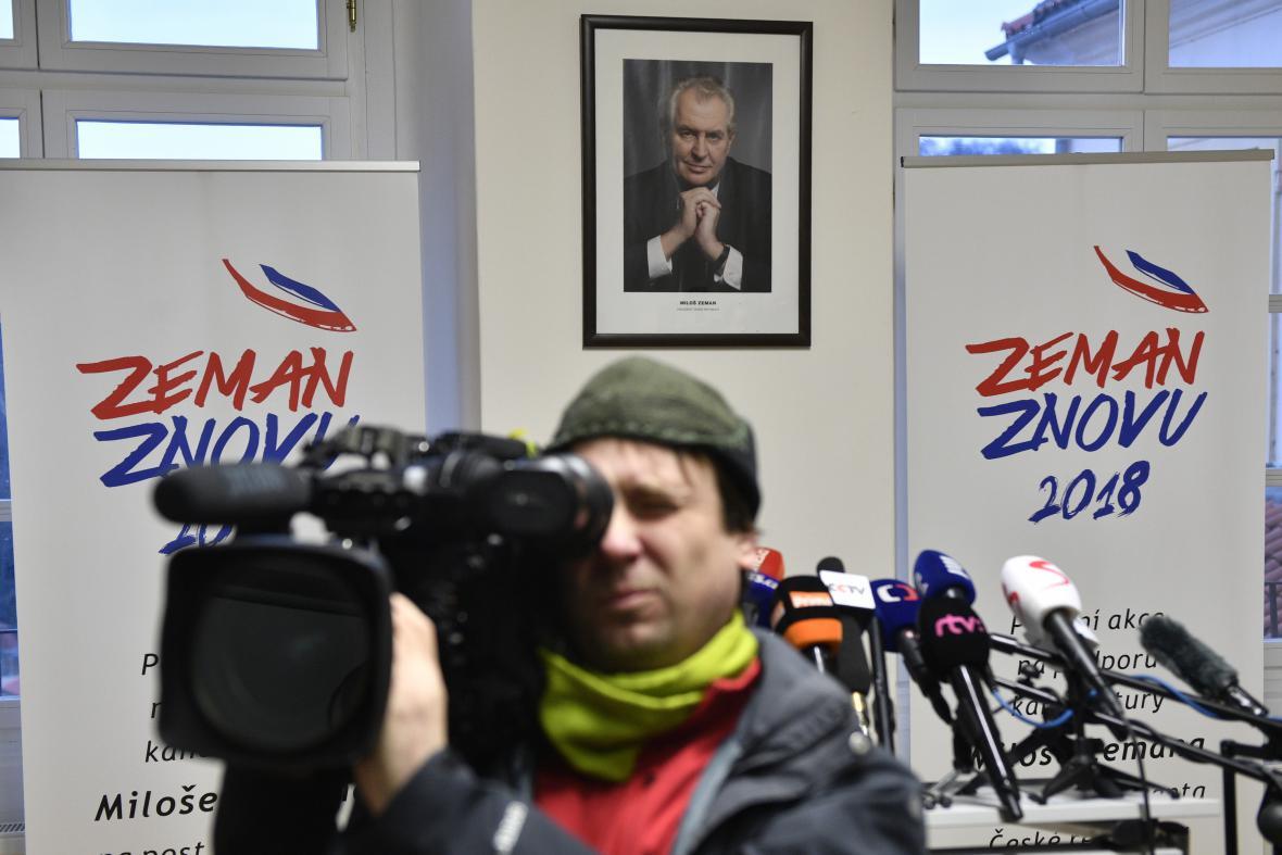 Štáb Miloše Zemana