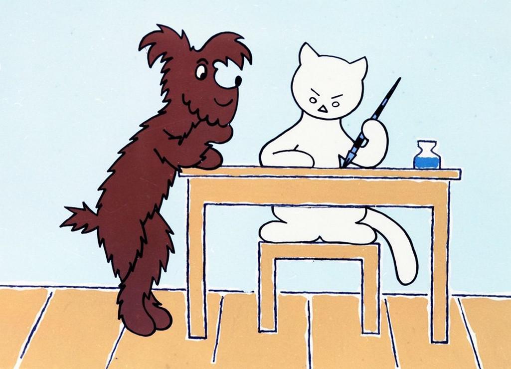 Povídání o pejskovi a kočičce