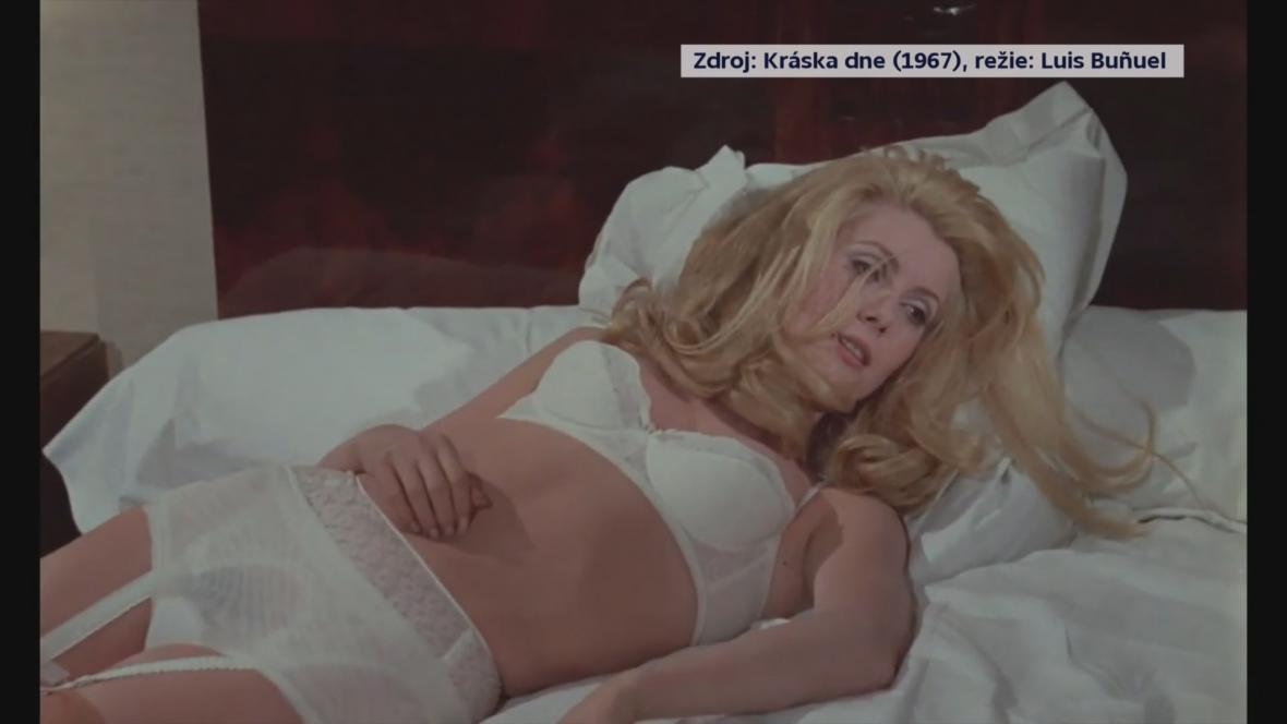 Catherine Deneuveová ve filmu Kráska dne