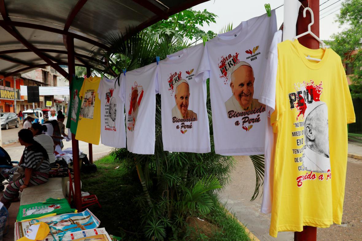 Peruánské Puerto Maldonado se připravuje na příjezd papeže